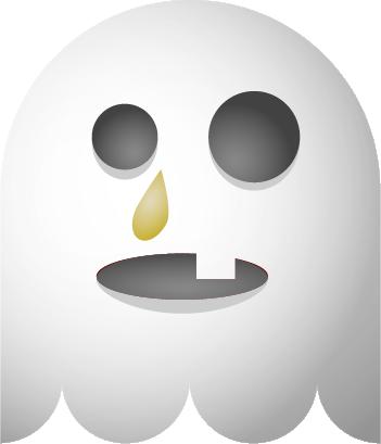 Ghosts SP emoji messages sticker-2