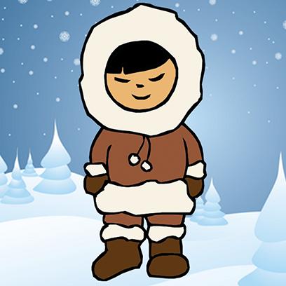 Eskimoji - Eskimos Emoji Stickers messages sticker-0