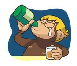 Adventurous Monkey Stickers messages sticker-11