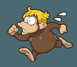 Adventurous Monkey Stickers messages sticker-9