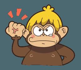 Adventurous Monkey Stickers messages sticker-1