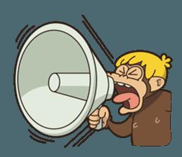 Adventurous Monkey Stickers messages sticker-7