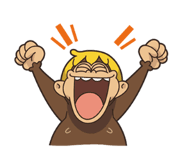 Adventurous Monkey Stickers messages sticker-2