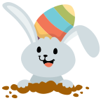 Fun Easter Emoji - Emoji Stickers for iMessage messages sticker-1