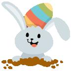 Fun Easter Emoji - Emoji Stickers for iMessage messages sticker-1