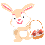 Fun Easter Emoji - Emoji Stickers for iMessage messages sticker-0
