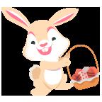 Fun Easter Emoji - Emoji Stickers for iMessage messages sticker-0