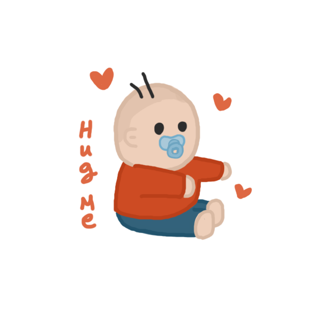 Daddy, play with me messages sticker-7