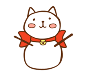 Friendly Cat! messages sticker-9