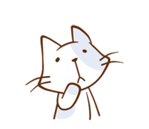 Friendly Cat! messages sticker-6