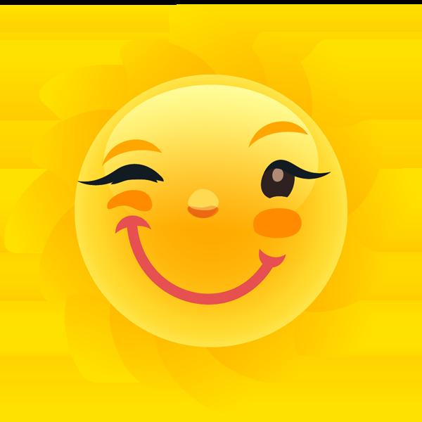 Weathermoji - emoji & stickers for weather update messages sticker-8