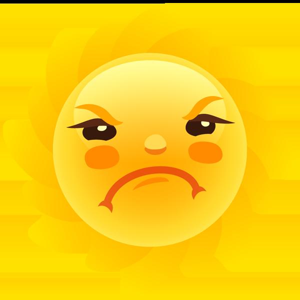 Weathermoji - emoji & stickers for weather update messages sticker-6