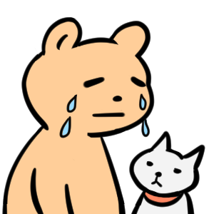 毎日くま&ねこステッカー Everyday Kuma & Neko Sticker messages sticker-6