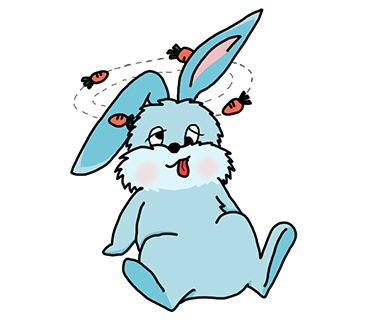 Benny Bunny Stickers messages sticker-4