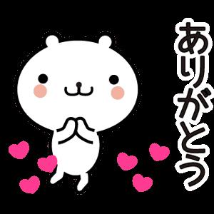 動く 小賢しいちびクマ messages sticker-4
