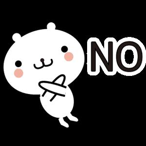 動く 小賢しいちびクマ messages sticker-1