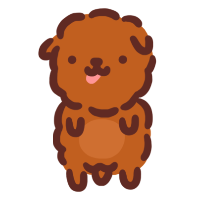 Poodle Kimi Sticker messages sticker-0