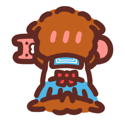 Poodle Kimi Sticker messages sticker-8