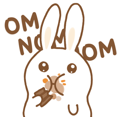 Easter Bun Bun messages sticker-2