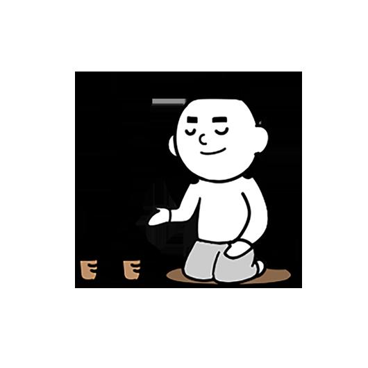 紫微大师-表情包贴纸 messages sticker-3