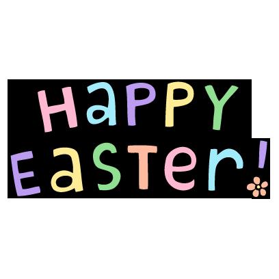 Easter Garden messages sticker-1