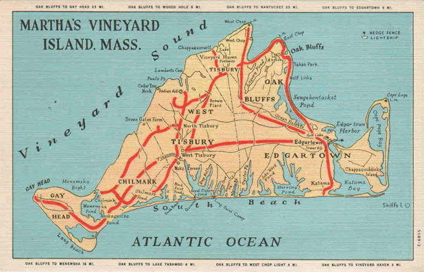 Martha's Vineyard Postcards messages sticker-1