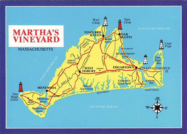 Martha's Vineyard Postcards messages sticker-0