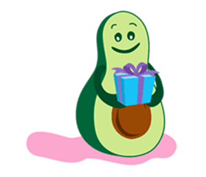 Avocado Party > Cool Stickers! messages sticker-6