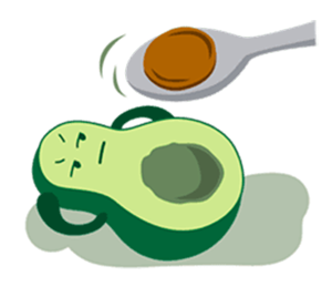 Avocado Party > Cool Stickers! messages sticker-0