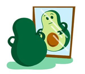 Avocado Party > Cool Stickers! messages sticker-2