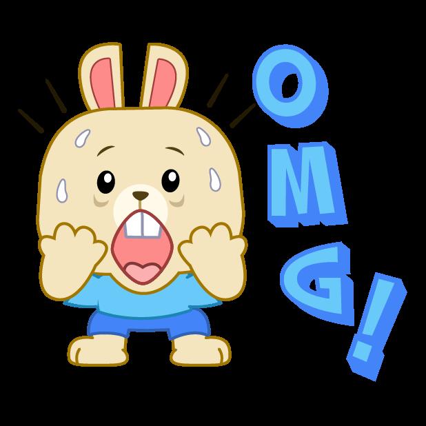 LIttle Bunny Sticker messages sticker-3