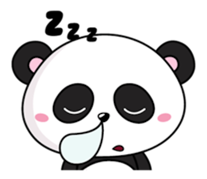 Funny Baby Panda messages sticker-8