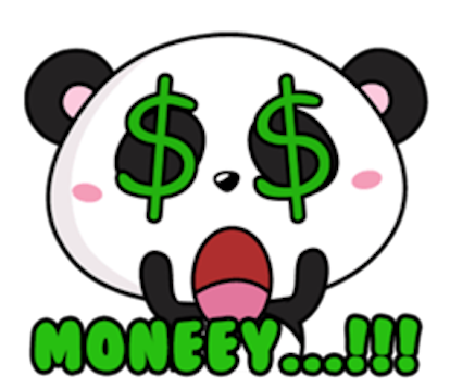 Funny Baby Panda messages sticker-5