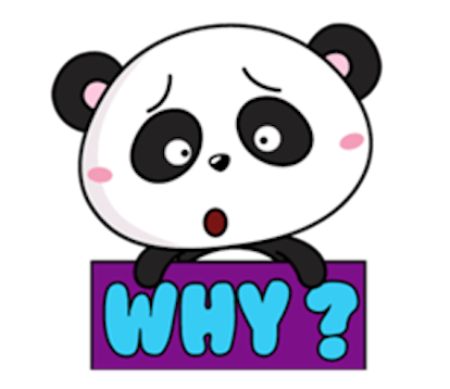 Funny Baby Panda messages sticker-4
