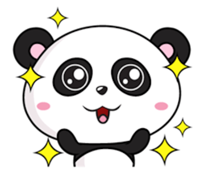 Funny Baby Panda messages sticker-2