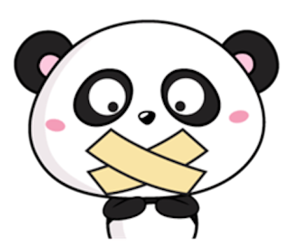 Funny Baby Panda messages sticker-10