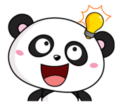 Funny Baby Panda messages sticker-9