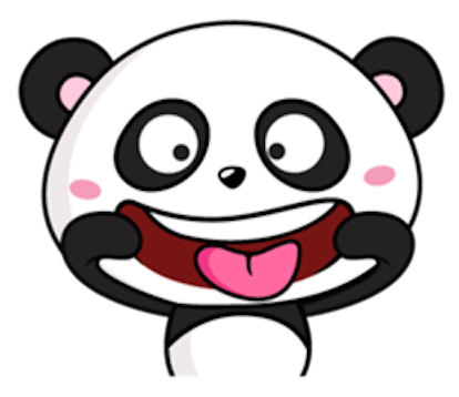 Funny Baby Panda messages sticker-3