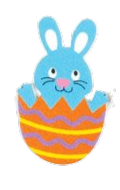 Many Eggs Much Lucky in Easter Sticker messages sticker-3