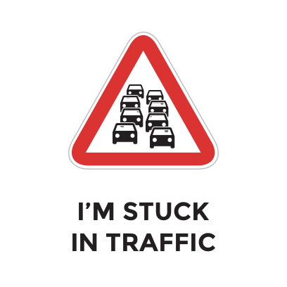 Endless Traffic messages sticker-1