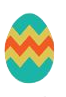 Cute Easter Eggs Sticker messages sticker-10