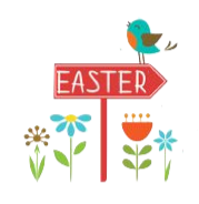Cute Easter Eggs Sticker messages sticker-4