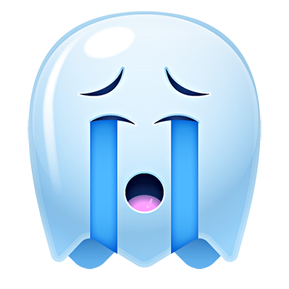 Ghost Emojis Free messages sticker-8