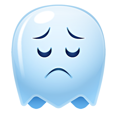 Ghost Emojis Free messages sticker-6