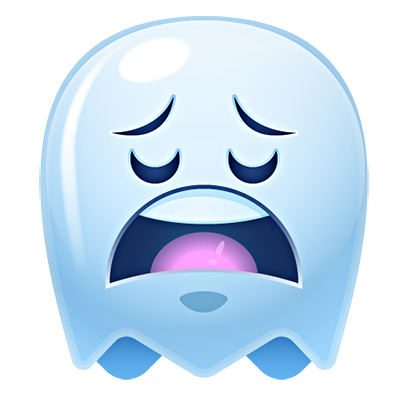 Ghost Emojis Free messages sticker-7