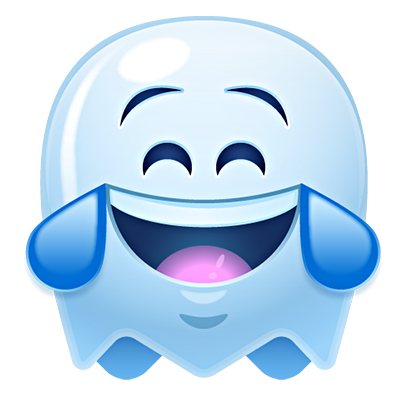 Ghost Emojis Free messages sticker-1