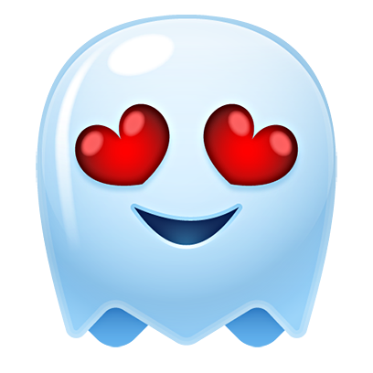 Ghost Emojis Free messages sticker-3