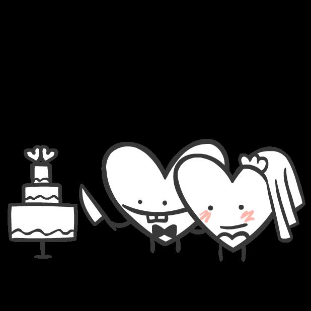 Heart Valentine Stickers messages sticker-2