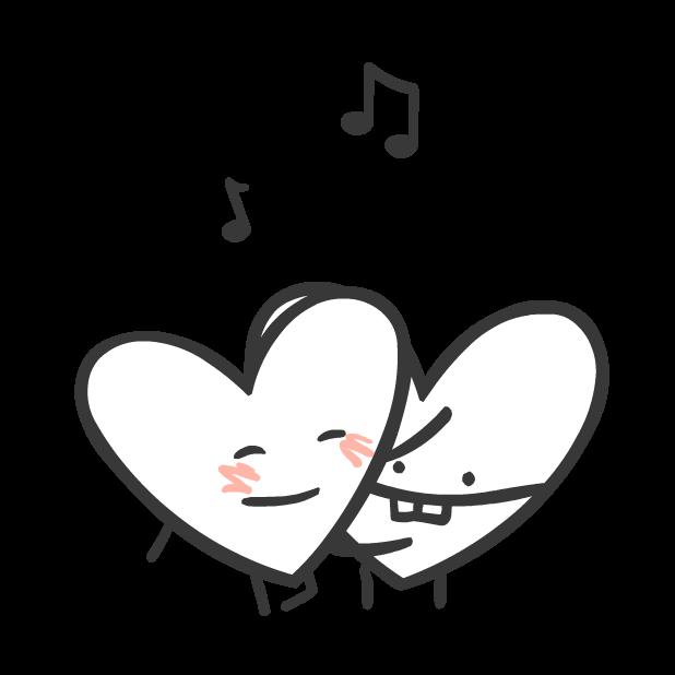 Heart Valentine Stickers messages sticker-9
