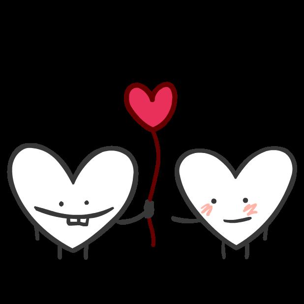 Heart Valentine Stickers messages sticker-11